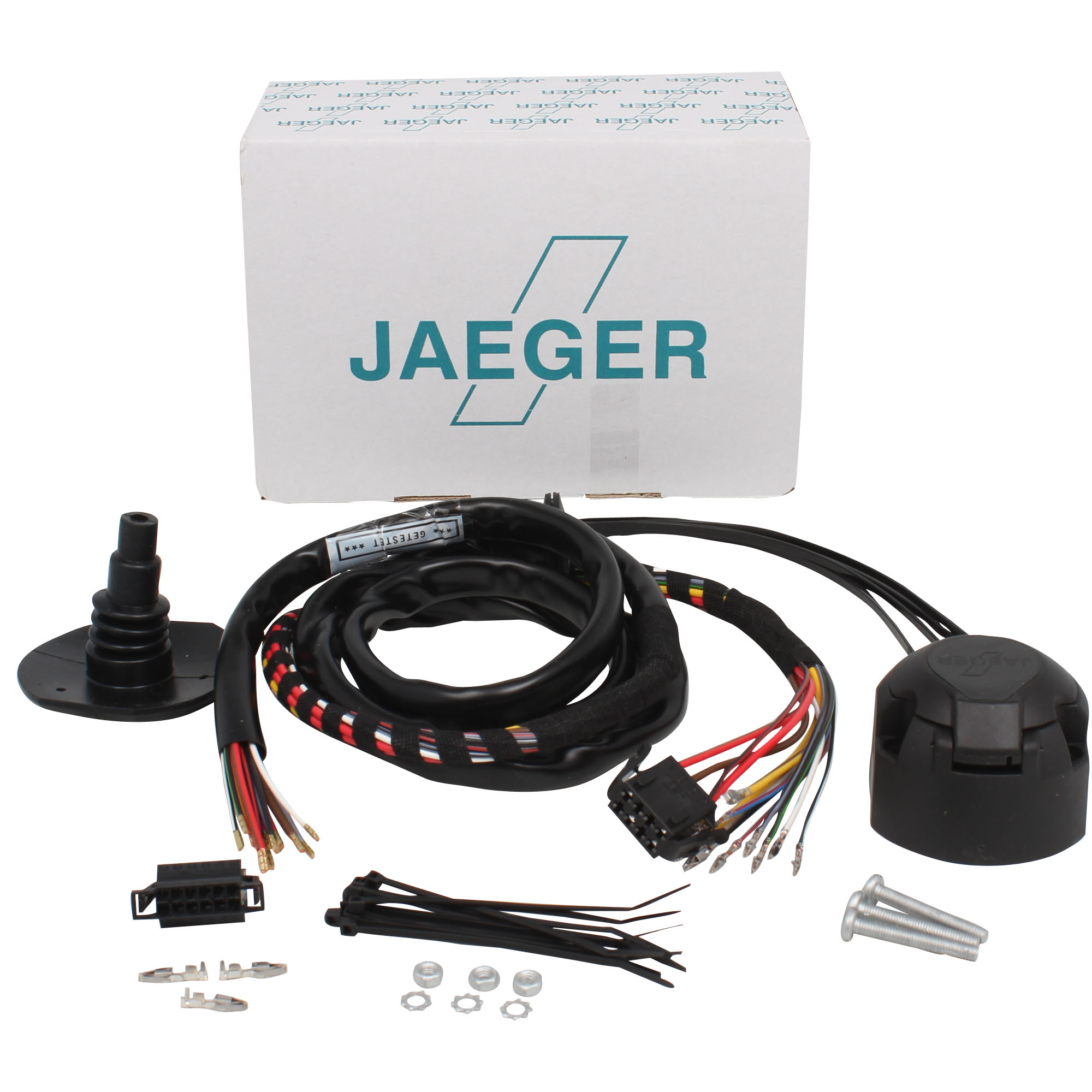 Trekhaak bekabeling jaquar specifieke kabelsets Jaeger Automotive