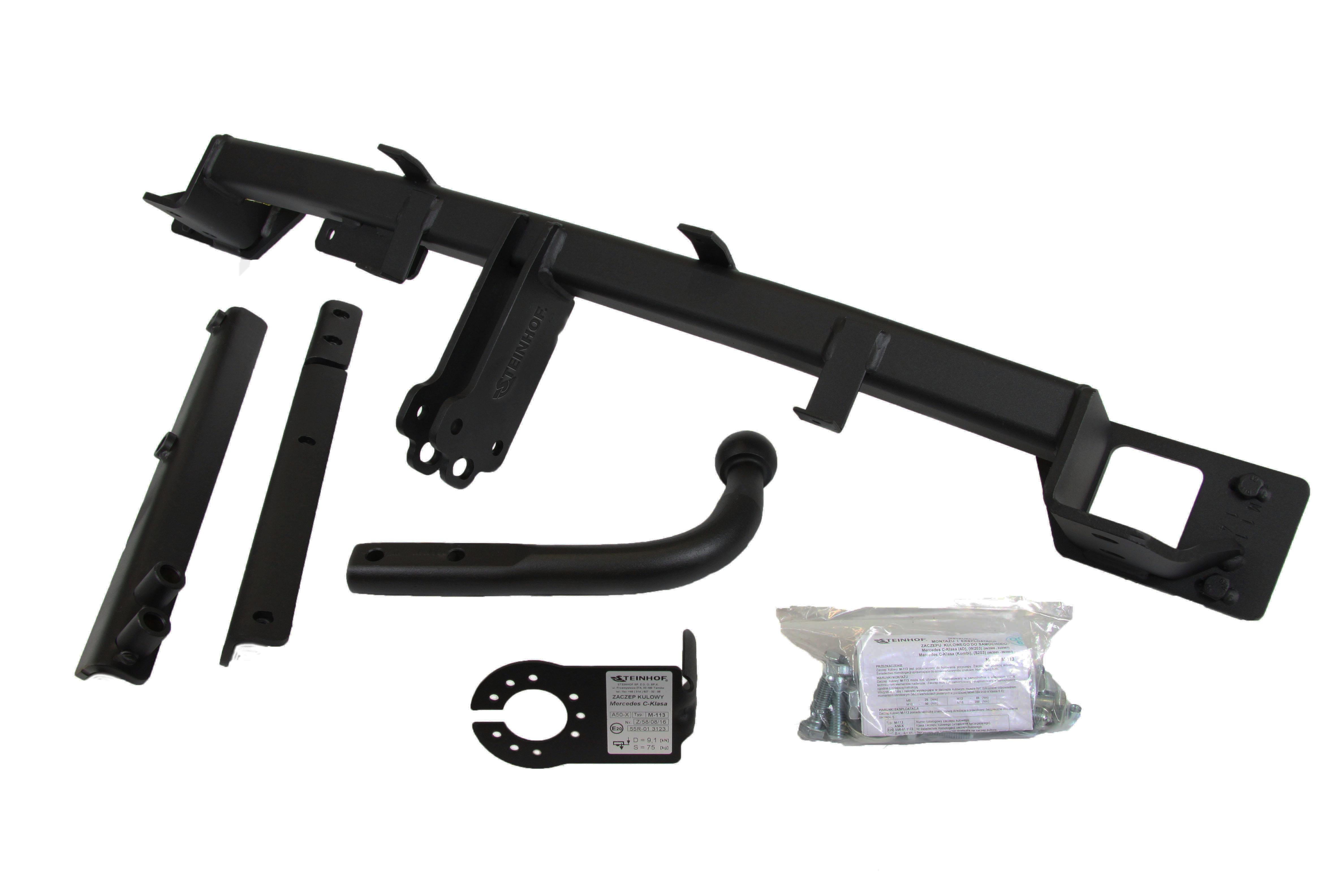 Fonkelnieuw Trekhaak W203 Afneembaar actie prijs AR-38